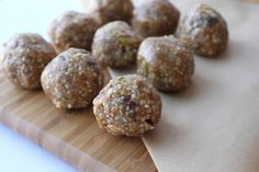 <p>Raw, vegan and totally fueling: these are packed with healthy fats, nourishing protein and just a hint of date sugar.</p>