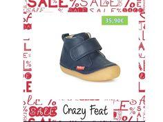 Δερμάτινα παιδικά μποτάκια αποπ την KICKERS με μπλε απόχρωση με δερμάτινη επένδυση στο εσωτερικό. Baby Shoes, Kids, Clothes, Fashion, Moda, Children, Clothing, Baby Boy Shoes, Kleding