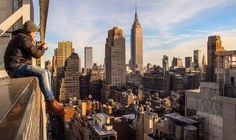 Daredevil rooftop photographer Dark.Cyanide captures New York City ...