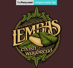 """Lembas Bread"" by CoryFreeman is available on #TeeFury."