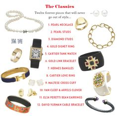 How to... build a jewelry collection: The Classics