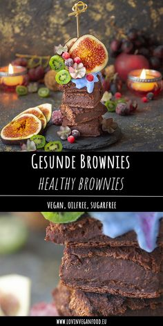 Healthy sugar-free vegan oil-free brownies are not a problem! Baking vegan is quick and easy and you only need a […] Sugar Free Vegan, Healthy Sugar, Healthy Cake, Healthy Baking, Eat Healthy, Paleo Dessert, Vegan Sweets, Healthy Sweets, Creamy Avocado Sauce