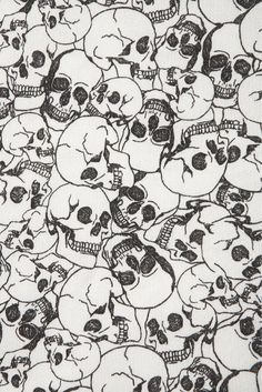 ☮ American Hippie Psychedelic Art Design Pattern Wallpaper ~ Skulls