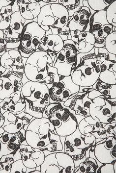 skull, pattern, wallpaper, print,