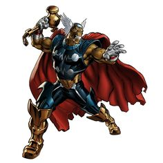 Beta Ray Bill ... Marvel Avenger Alliance  Spec Op 24 - the Land of Fire and Ice!