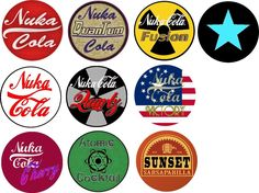 Fallout Bottle Caps Template by Dornogol.deviantart.com on @deviantART