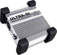 Behringer DI100 Ultra DI Active Direct Box
