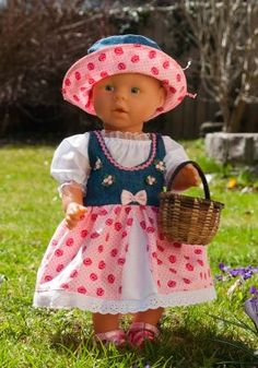 Puppenschnittmuster, Puppenkleider, Puppenkleidung & Puppenzubehör - puppenschnitte.de