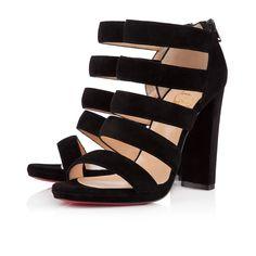 MEHARI VEAU VELOURS 120 mm, Veau velours, BLACK, souliers pour femme.