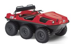 6x6 Frontier 580 - Amphibious ARGO ATV