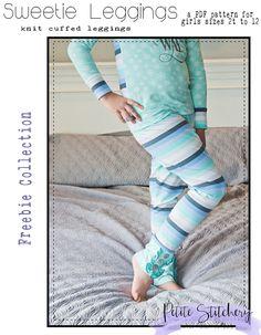 753f068ab3ddd Petite Stitchery & Co + Free PDF Sewing Pattern + Girls & Baby Leggings &  Pjs