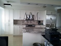 White Kitchen with Countertops