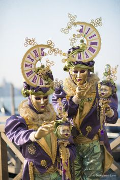 Carnival Costume, Venice, Italy ~ by Georgianna Lane