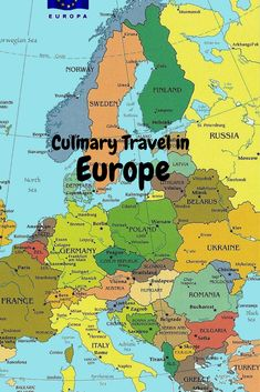 Culinary Travel in Europe