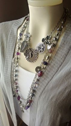 Passionista and Botanical Necklace Combo