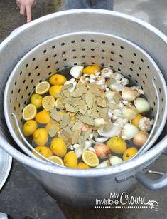 crawfish boil ingredients