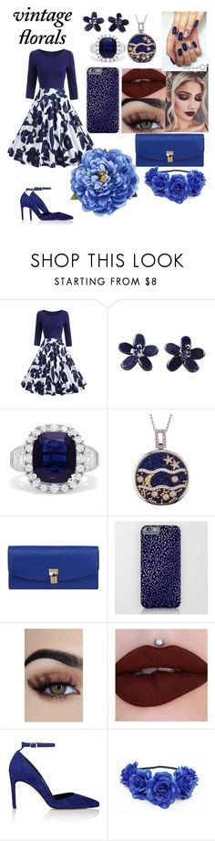 """""""Vintage Floral"""" by mgra180 ❤ liked on Polyvore featuring NOVICA, Effy Jewelry, Dolce&Gabbana, Diane Von Furstenberg, vintage and VitageFloral"""