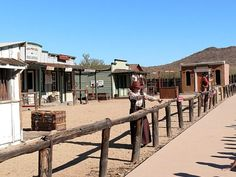 "Popular with school tour groups, the museum offers visitors a look into the life of Arizona's American settlers, specifically between 1870 and 1910. You'll find what appears to be a little town with a variety of buildings and ""populated"" with characters from the era. Let's take a look!"