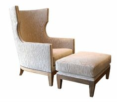 black high back wing chairs contemporary - Google Search