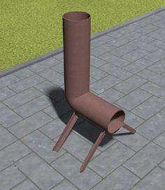 Bir füze fırının en basit tasarım
