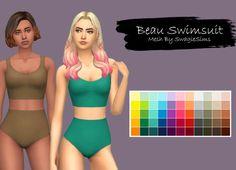 little-callia-bean: Beau Swimsuit Recolored Has... - Fantayzia Maxis Match