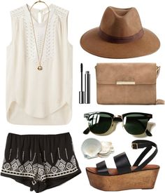 Summer style at its best. I'm going to order every piece of this combo. First up: the glasses!