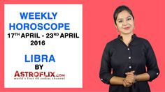 #Libra - #Weekly #Horoscope for 17th to 23rd #April 2016 #astrology #Zodiac