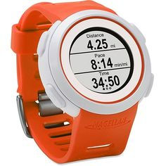 Magellan Echo Orange: Magellan GPS Watches  #fitness data #Magellan Echo #Magellan GPS #smartphone #The Echo MonitorWatches.com
