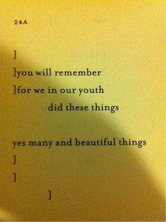 afacethatsunk1000ships:    weirddeals:  Sappho 24a, translated by Anne Carson