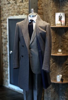 """Handmade by Tailorable WineLabel.      """"ULTIMATE LUXURY"""" - Cashmere DB Coat."""