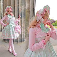 fahrlight:  Meet up coord. #lolita #angelicpretty #fahrlight #ribbonplague
