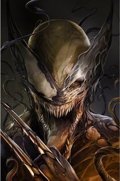 Venom #6 (2017) ComicXposure Exclusive Variant Cover by Francesco Mattina