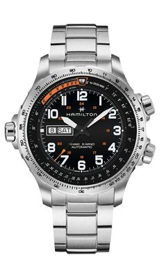 Hamilton's Khaki Aviation X-Wind line heads for new heights as the brand launches a new interpretation of its iconic X-Wind collection – Watch-Insider.com #menwatches