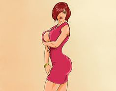 """Check out new work on my @Behance portfolio: """"Pin up #9"""" http://be.net/gallery/51696409/Pin-up-9"""