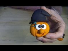 HALLOWEEN 2013 - Jumping Clay Tutorial - How To Make a Clay Pumpkin Magnet - Loads more tutorials available @ www.youtube.com/jumpingclayuk