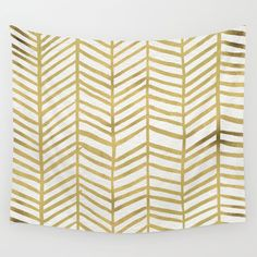 Buy Gold Herringbone by Cat Coquillette as a high quality Wall Tapestry. Worldwide shipping available at Society6.com. Just one of millions of products…