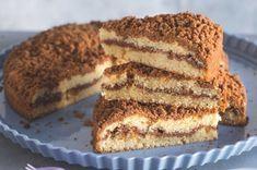 Jednoduchý koláč se skořicovou drobenkou Yami Yami, Sweet Recipes, Healthy Recipes, Healthy Food, Tiramisu, Ham, Pavlova, Food And Drink, Sweets