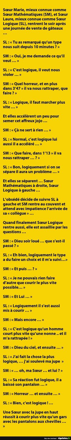 Sœur Marie, mieux connue comme Sœur Mathématiques ... - RIGOLOTES.fr