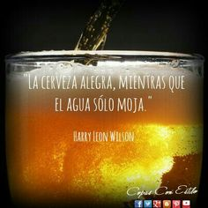 Beer Wedding, Beer Quotes, Mexican Humor, Beer Bar, Creative Food, Bartender, Craft Beer, Liquor, Brewing
