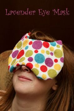 Relax with DIY Lavender Eye Mask | OurFamilyWorld.com