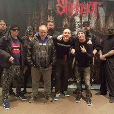 Slipknot Sid Wilson Corey Taylor