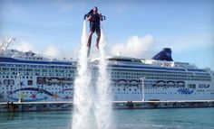 Groupon - $  99 for 25-Minute Water-Propelled Jet-Pack Experience from Rocketman ($  200 Value) in Fort Lauderdale (Central Fort Lauderdale). Groupon deal price: $99.00