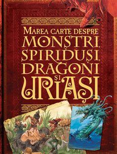 John Malam - Marea carte despre monstri, spiridusi, dragoni si uriasi - Decor, Art, Decorating, Craft Art, Kunst, Inredning, Gcse Art, Interior Decorating, Deck