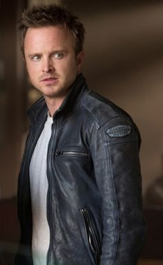 "Get this astonishing Jacket of Aaron Paul bring in from upcoming movie ""Need for Speed""  Like if you like Need for Speed  @Raquel Quinones-Lemery @Kendi Everyday @Kassidy Everard @Michelle Coward @Michael J. Morley"