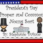 Students will look at the presidential pictures and decide whether it is a proper noun or a common noun.    Be sure to follow me on TPT and Facebook ...