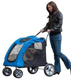 540e7268232 Pet Gear Expedition Pet Stroller for cats and dogs up to 150-pounds.