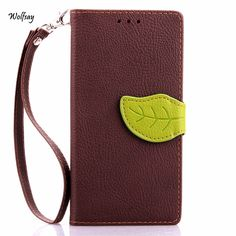 Fundas For Samsung A5 2015 Luxury Style Handbag Flip Leather Case For Samsung Galaxy A5 A500 2015 Covers Card Solt Holder Wallet