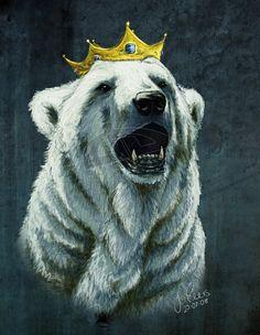 My Polar Bear Prince by JenTheThirdGal.deviantart.com
