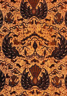 33. SEMEN GUNUNG, Yogyakarta Indonesian Art, Batik Pattern, Traditional Fabric, Javanese, East Indies, Shadow Puppets, Yogyakarta, Love At First Sight, Beautiful Patterns