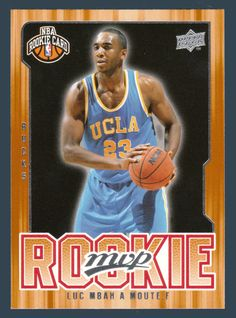 Luc Richard Mbah A Moute RC # 231 - 2008-09 Upper Deck MVP Basketball NBA Rookie